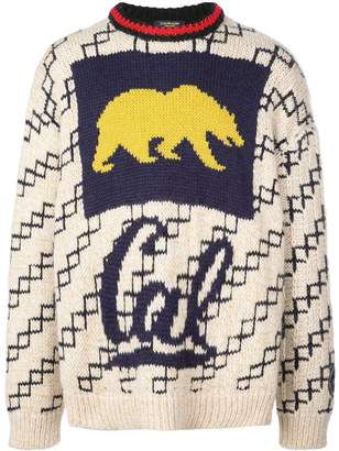 Calvin Klein Berkeley bear jumper