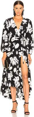 Ganni Kochhar Dress in Black | FWRD