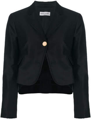 Sonia Rykiel satin peplum jacket