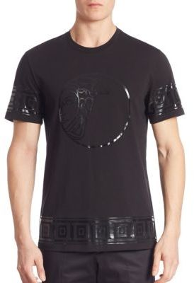 Versace Collection Graphic Printed Tee $325 thestylecure.com