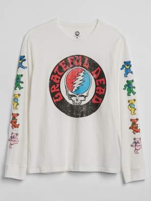 Gap Graphic Long Sleeve Crewneck T-Shirt