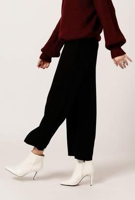 Azalea Wide Tie Waist Culotte Pants