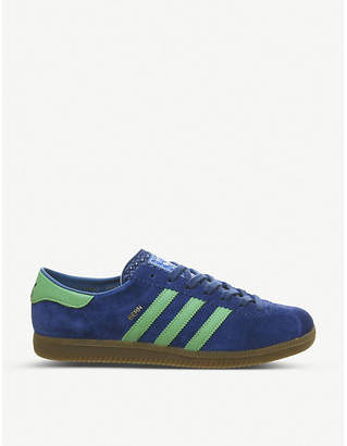 Bern low-top suede trainers