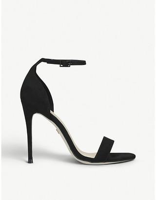 Kurt Geiger Ali faux-suede heeled sandals
