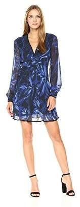 Just Cavalli Women's Rock Tulip Print Dress