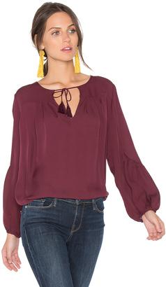 Joie Ezbeth Silk Blouse $298 thestylecure.com