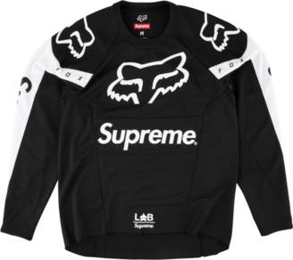 Fox Racing Supreme Moto Jersey Top - 'SS 18' - Black