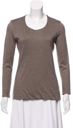 Akris Cashmere and Silk-Blend Top