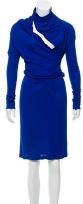 Vionnet Ruched-Trimmed Midi Dress Ruched-Trimmed Midi Dress