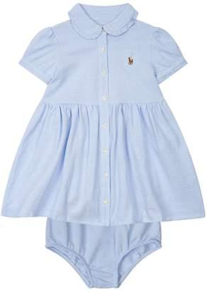 Polo Ralph Lauren Logo Print Shirt Dress