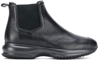 Hogan chunky ankle boots