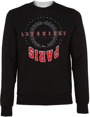 Christian Dior Printed Logo Sweatshirt