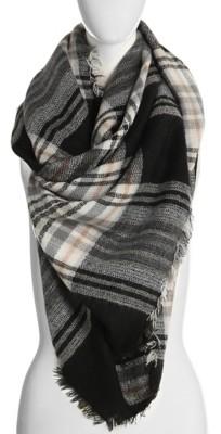 Kelly & Katie Plaid Blanket Scarf