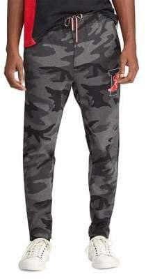 Polo Ralph Lauren Men's P-Wing Cotton Interlock Active Pants - Grey - Size Small