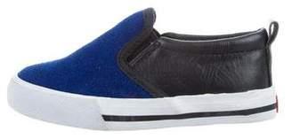 Little Marc Jacobs Boys' Suede Slip-On Sneakers
