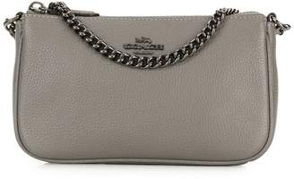 Coach chain-embellished clutch