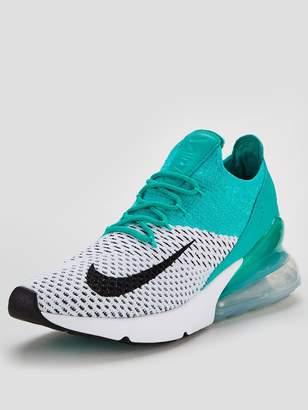 Nike 270 Flyknit - White/Green