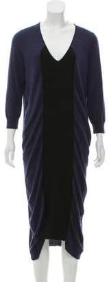 Zero Maria Cornejo Wool Midi Dress