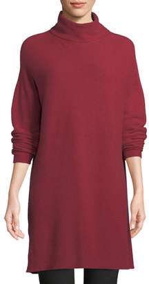 Eileen Fisher Cashmere Funnel-Neck Tunic
