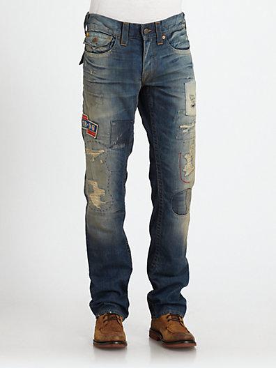 True Religion Ricks on the Road Denim Jeans