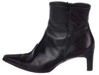 Paul Green Leather Ankle Boots