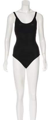 Herve Leger One-Piece Bandage Swimsuit