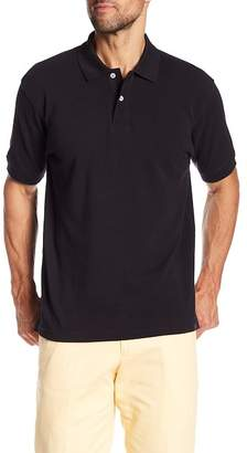 Bills Khakis Supima Pique Black Polo Shirt