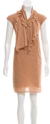Marni Ruffle-Accented Sleeveless Dress