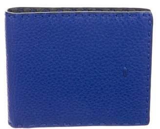 Fendi Grained Leather Wallet