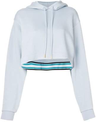 Dvf Diane Von Furstenberg cropped boxy hoodie