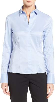BOSS Bashina Stretch Poplin Blouse