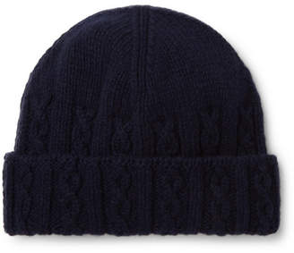 876dd57ab7c Inis Meáin Cable-Knit Merino Wool Beanie