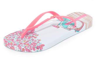 Ipanema Bouquet Flip Flops $26 thestylecure.com