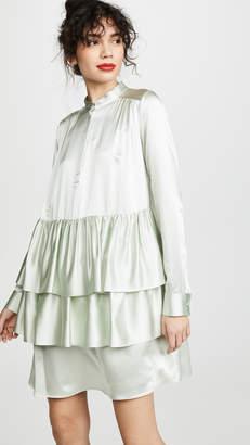 ADAM by Adam Lippes Tiered Ruffle Dress