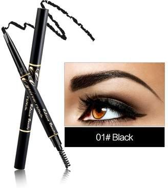 RELEASE BEAUTY Waterproof Retractable Long Lasting Eyebrow Pencil Eye Number 1