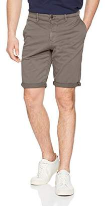 Tom Tailor Men's Slim Chino Stretch Short,(Manufacturer Size: Small)