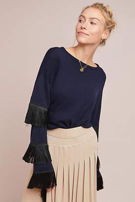 Tabula Rasa Tiered Fringe Sweater