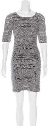 Rag & Bone Knit Cutout Dress