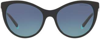 Tiffany & Co. Arm Detail Butterfly Sunglasses