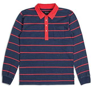 Brixton Men's Belgrade Long Sleeve Polo Knit