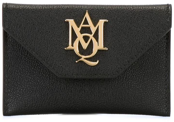 Alexander McQueenAlexander McQueen 'Insignia' envelope cardholder