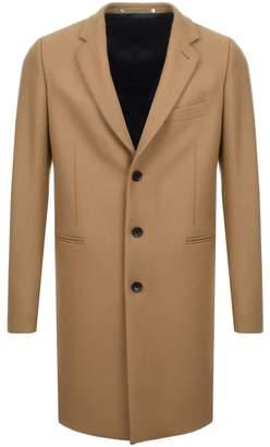 Paul Smith Overcoat Jacket Brown