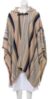 Maiyet Cashmere-Blend Hooded Cape
