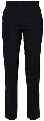 Maje Palere Pinstriped Crepe Straight-leg Pants