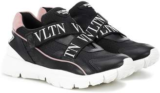 Valentino Heroes Her leather sneakers