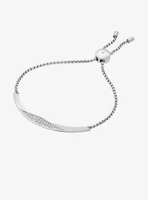 Michael Kors Silver-Tone Slider Bracelet