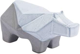 ZUO Modern Geo Ceramic Hippo Figurine