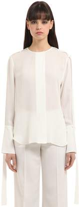 Calvin Klein Collection Double Georgette Shirt