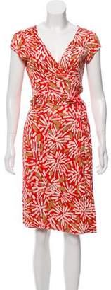 Diane von Furstenberg Satin Kye Dress