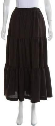 eskandar Wool Midi Skirt